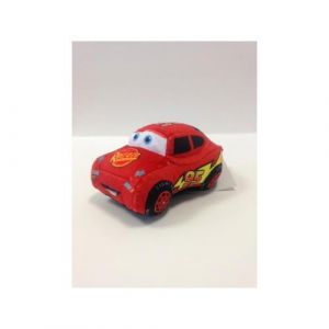 Abysse Corp Peluche voiture à friction Flash McQueen Cars Disney 20 cm