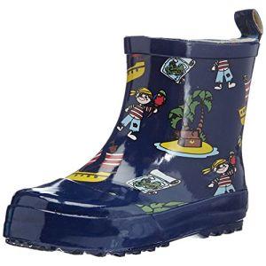 Playshoes 180363, Boots mixte enfant, Bleu (Marine), 25 (Taille fabricant: 9)