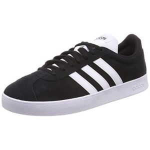Adidas VL Court 2.0, Chaussures de Fitness Homme, Noir (Negbas/Ftwbla 000), 46 EU