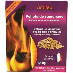 Image de Actifeu Pellets de ramonage - 1.5kg - Entretien chauffage