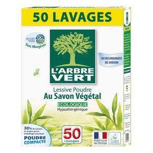 L'Arbre Vert Lessive poudre au savon végétal