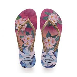 Havaianas Tongs Slim Tropical Sunset Imprimé Fleurs - Taille 35/36;37/38;39/40;41/42