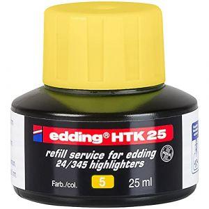 Edding Recharge Htk25 Pour Surligneur E24 Ecoline Jaune