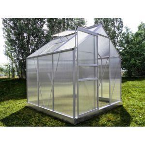 Chalet et Jardin Serre 66 en polycarbonate alvéolaire 3,61 m²