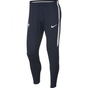 Nike Pantalon de football FFF Dri-FIT Squad pour Homme - Bleu - Taille L