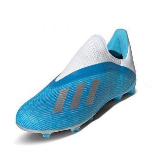 Adidas Chaussures de foot enfant Chaussure X 19.3 Terrain souple bleu - Taille 31,33,34,35