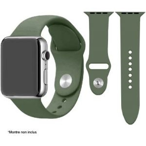 Ibroz Bracelet Apple Watch SoftTouch 44mm vert olive