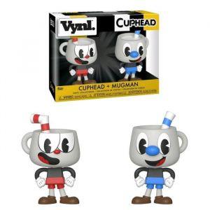 "Funko VYNL 4"" 2-Pack: Cuphead: Cuphead & Mugman Collectible Figure, 35262, Multcolour"