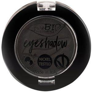 PuroBio Cosmetics Compact Eye Shadow 04 Nero (mate) - 2,50 g