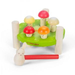 """Le Toy Van Jeu de marteau """"Messieurs Champignons"""""""