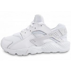 Nike Huarache Run Enfant Blanc 704949 110