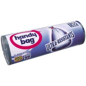 Handy Bag 10 sacs de poubelle Ultra résistant (130 L)