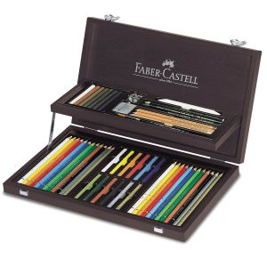 Faber-Castell Coffret collection Beaux-Arts 36 craies et crayons
