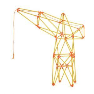 Hape Kit créatif Flexistix Grue à treillis