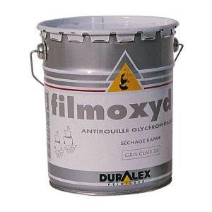 Duralex Peinture antirouille filmoxyde gris 25 - pot 3 l
