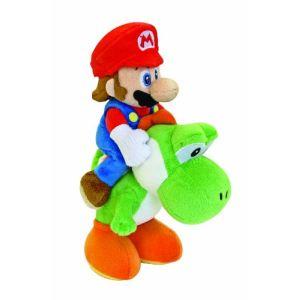 Nintendo Peluche Mario et Yoshi