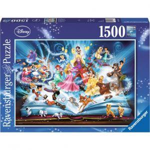 Ravensburger Livre magique de Disney - Puzzle 1500 pièces