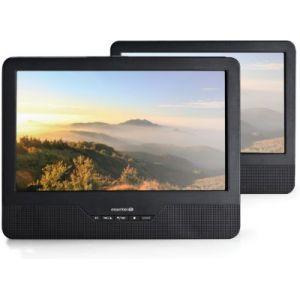 """EssentielB Mobili MS9 - Lecteur DVD portable double écran 9"""""""