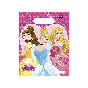 Procos 8 sachets cadeau plastique Disney Princesses