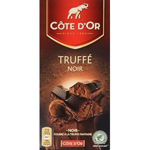 Côte d'Or Chocolat noir fourré à la truffe fantaisie - La tablette de 190g