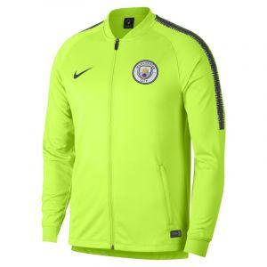 Nike Veste de survêtement de football Manchester City FC Dri-FIT Squad pour Homme - Jaune - Couleur Jaune - Taille L