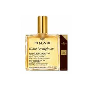 Nuxe Huile Prodigieuse - Huile Sèche Multi-fonctions Visage, Corps, Cheveux - 100 ml