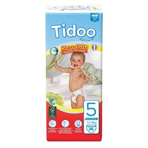 Tidoo Culotte d'apprentissage Stand Up Junior taille 5 (12-18 kg) - paquet de 36