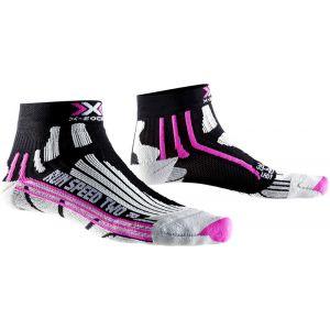 X-Socks Run Speed Two Women Blanc/Turquoise Noir Noir/fuchsia 1
