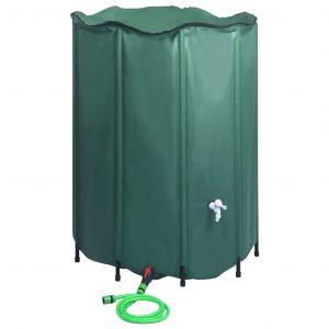 VidaXL Réservoir pliable d'eau de pluie avec robinet 1250 L