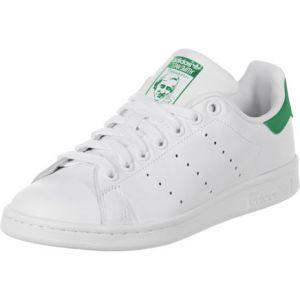 Adidas Originals Stan Smith - Baskets Mode Mixte Adulte - Blanc (Running White FTW/Running White/Fairway) - 45 1/3 EU