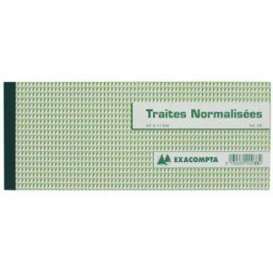 Exacompta Carnet à souche 50 feuilles (100 x 210 mm)