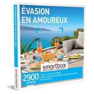 Smartbox Coffret cadeau Évasion en amoureux