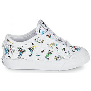 Adidas Chaussures enfant NIZZA C X DISNEY SP - Couleur 28,29,30,31,32,33,34,35,33 1/2,31 1/2,30 1/2,28 1/2 - Taille Blanc