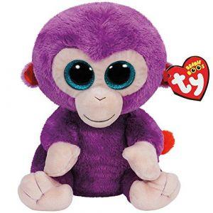 Ty Beanie Boos - Grapes le Singe Violet - Peluche 23 cm