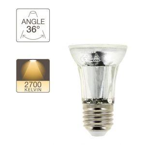 Xanlite VE50S Ampoule 50 W Angle Focalise 36 6,5 W E27 Gris