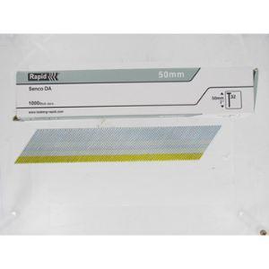 Rapid 40104408 - Pointes n°32 galva 50 mm boîte de 1000