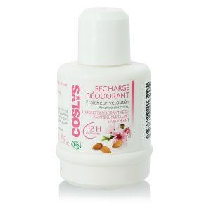 Coslys Fraîcheur veloutée - Recharge déodorant amande douce Bio