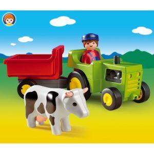 Playmobil 6715 - 1.2.3 : Fermier et son tracteur