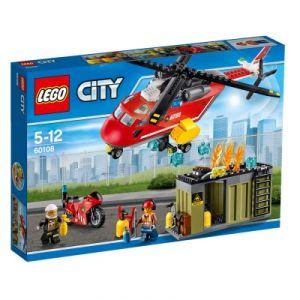 Lego 60108 - City : L'unité de secours des pompiers