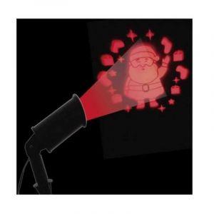 Projecteur laser fixe Père Noël rouge 1 LED