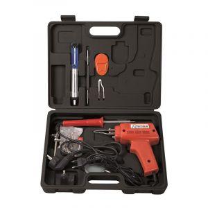 Heliotrade Coffret complet pistolet à souder + fer à souder + accessoires soudure