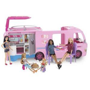 Mattel Camping Car Barbie transformable