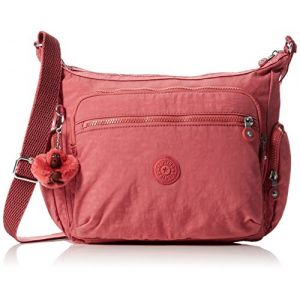 Kipling Gabbie, Sacs bandoulière femme, Rose (Dream Pink), 18.5x35.5x30 cm (B x H T)