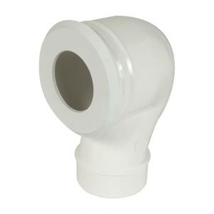Nicoll Pipe wc réglable sortie verticale Ø80 fac joint 95/116 CWP38