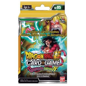 Bandai Starter Pack - Dragon Ball Super - Série 5 - The Crimson Sayan