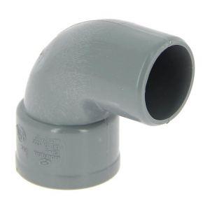 Adequa Coude PVC mâle-femelle 87°30 O40