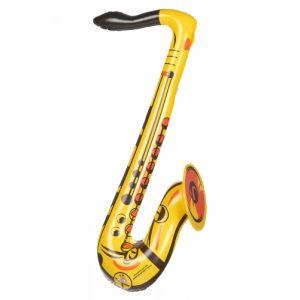 Saxophone gonflable jaune Taille Unique