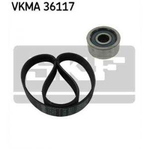 SKF Kit de courroies d'accessoires VKMA36117