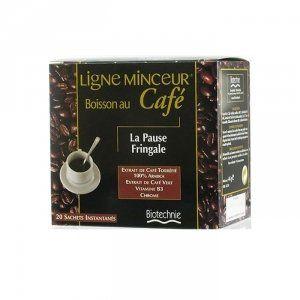 Biotechnie Ligne Café minceur, boisson au café, la pause fringale