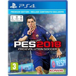 PES 2018 (Pro Evolution Soccer) sur PS4